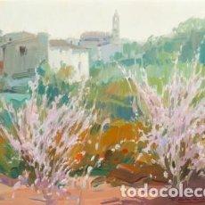 Arte: FRANCISCO CALABUIG, BENISSIVA, O/L, PINTOR VALENCIANO. Lote 75878135