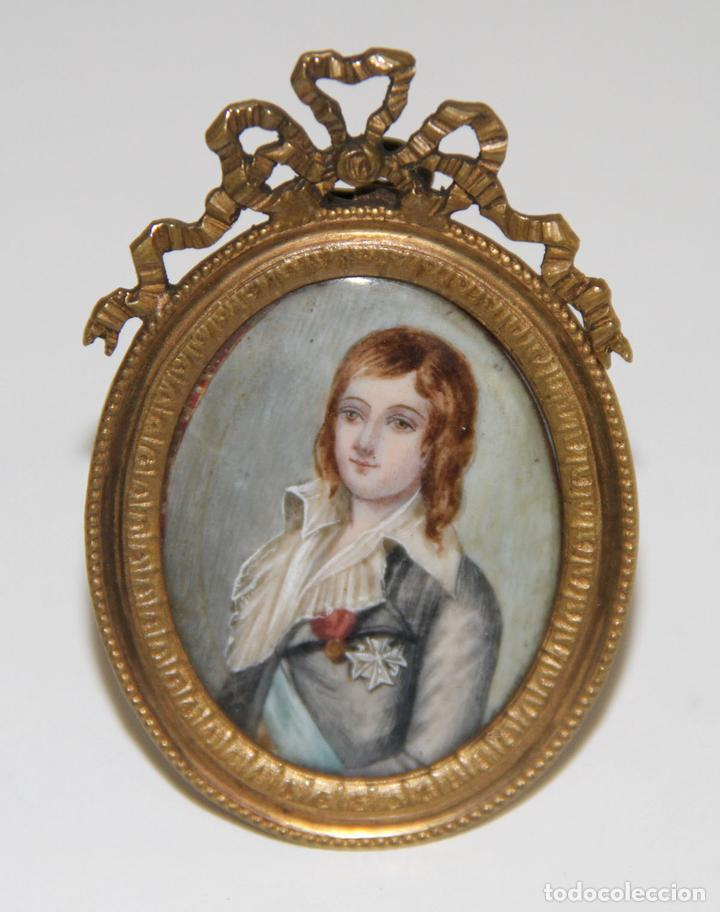 Resultado de imagen de retrato miniatura XVIII
