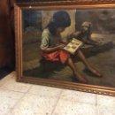 Arte: CUADRO PINTADO AL ÓLEO.. Lote 76460351