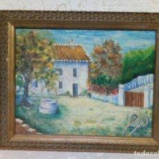 Arte: OLEO INGENUISTA SOBRE TABLA, ENMARCADO. Lote 76524667