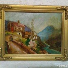 Arte: OLEO SOBRE TABLA ENMARCADO. Lote 76529275