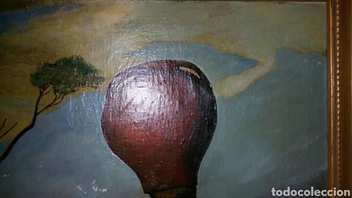 Arte: Óleo sobre lienzo firmado Eugenio Hermoso ME HAN INFORMADO DE QUE es una copia - Foto 6 - 76595701