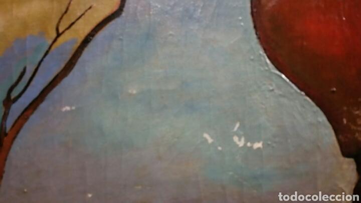 Arte: Óleo sobre lienzo firmado Eugenio Hermoso ME HAN INFORMADO DE QUE es una copia - Foto 10 - 76595701