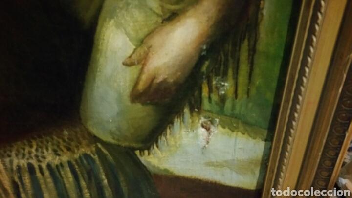 Arte: Óleo sobre lienzo firmado Eugenio Hermoso ME HAN INFORMADO DE QUE es una copia - Foto 12 - 76595701