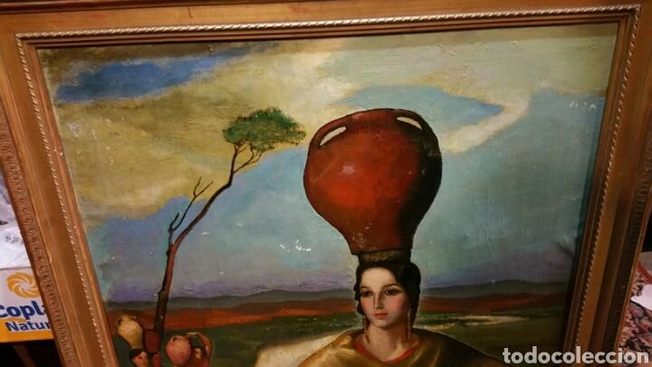 Arte: Óleo sobre lienzo firmado Eugenio Hermoso ME HAN INFORMADO DE QUE es una copia - Foto 14 - 76595701