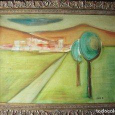 Arte: ELIO ÓLEO/LIENZO 81 X 60 CM. FIRMADO. AÑOS 50.. Lote 76678787