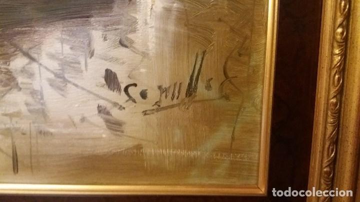 Arte: Óleo sobre lienzo Antonio Segrelles - Foto 2 - 135301459