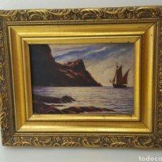Arte: JOSE NAVARRETE OPPLET - MARINA - OLEO SOBRE TABLA. Lote 76896602