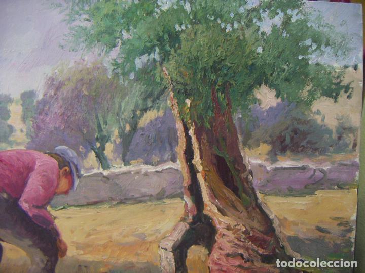 Arte: Oleo original firmado a identificar - Foto 3 - 76966569