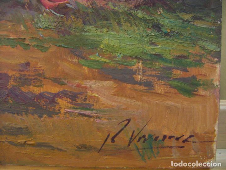 Arte: Oleo original firmado a identificar - Foto 5 - 76966569