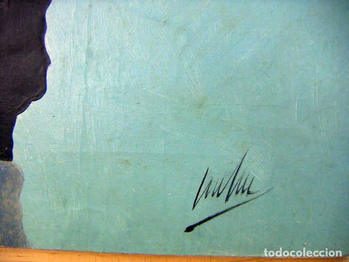 Arte: Oleo original firmado a identificar - Foto 5 - 76966737