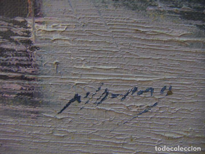Arte: Oleo original firmado a identificar - Foto 6 - 76970665