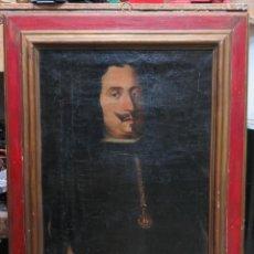 Arte: RETRATO DE CABALLERO DE SANTIAGO. ALONSO OCIO HURTADO DE MENDONZA. SEÑOR CIRIÑUELA. RIOJA.SIGLO XVII. Lote 77144045