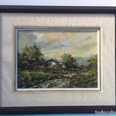 Arte - PUIG MARTI , BONITO OLEO SOBRE LIENZO ESCUELA OLOT - 77180221