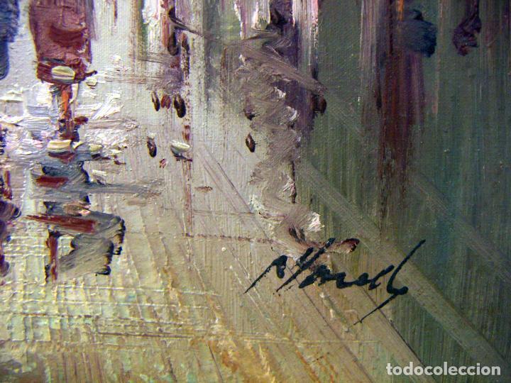 Arte: Oleo original firmado a identificar - Foto 6 - 77221341