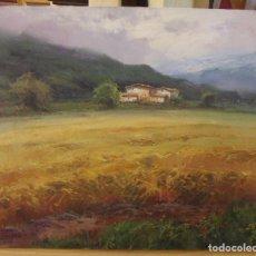 Arte: OLEO ORIGINAL FIRMADO SALVADOR CABALLERO. Lote 77224213