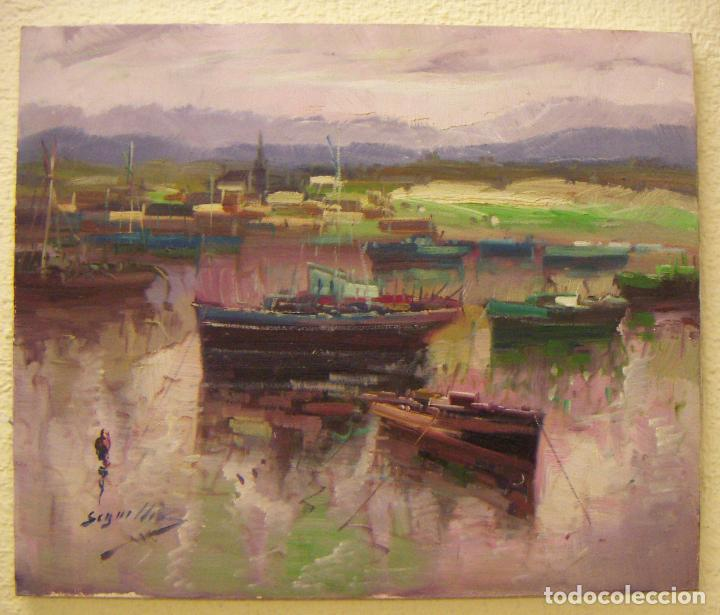 OLEO ORIGINAL FIRMADO SEGRELLES (Arte - Pintura - Pintura al Óleo Contemporánea )