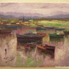 Arte: OLEO ORIGINAL FIRMADO SEGRELLES. Lote 77275897
