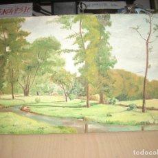 Arte: PAISAJE, ÓLEO SOBRE TABLA, FIRMADO GUIJARRO. Lote 77332953