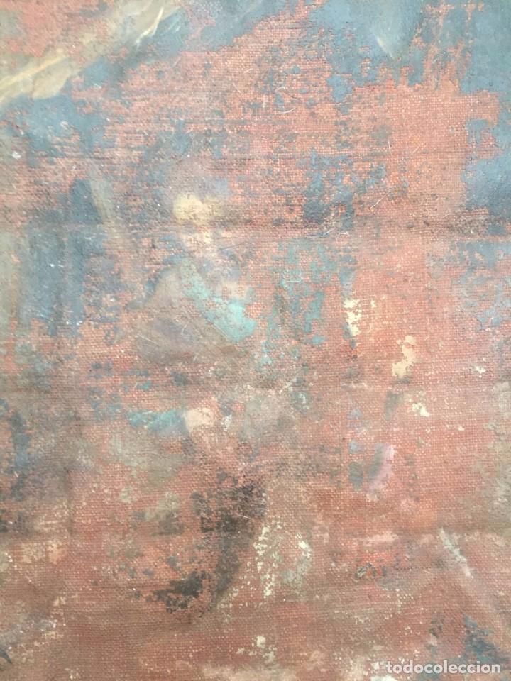 Arte: Oleo sobre lienzo Siglo XVIII - Foto 2 - 77341017