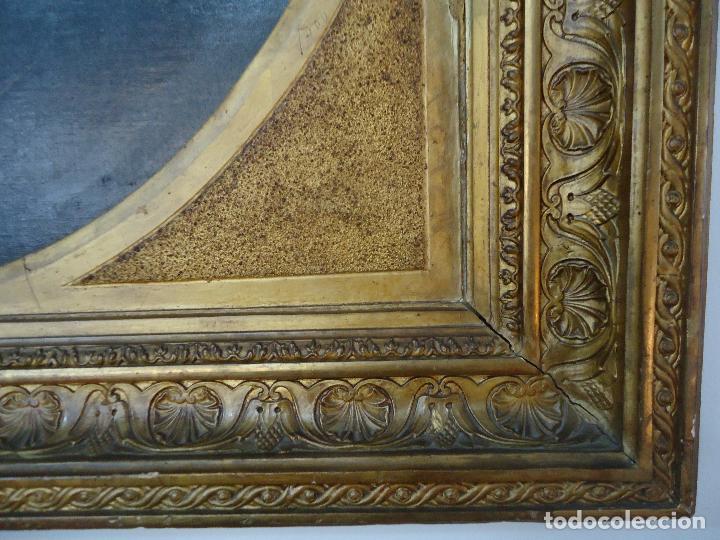 Arte: Retrato de Caballero Pintado en1878 por el alicantino José Gonzalvez - Paraes - - Foto 2 - 77854465
