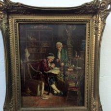 Kunst - Oleo sobre tabla Pintura antigua - 67055522