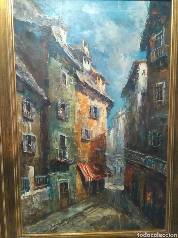 OLEO DE LLUIS FLOTATS (LLEIDA 1917--- BARCELONA 1987) (Arte - Pintura - Pintura al Óleo Contemporánea )
