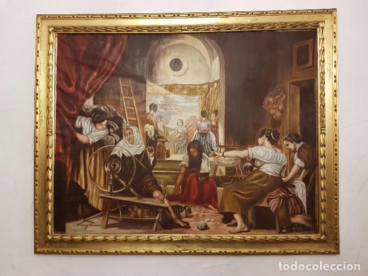 OLEO SOBRE LIENZO FIRMADO Y FECHADO (Arte - Pintura - Pintura al Óleo Contemporánea )