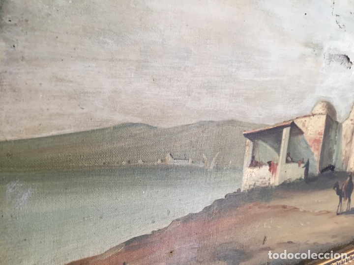Arte: Óleo muy antiguo Corot - Foto 4 - 79604479