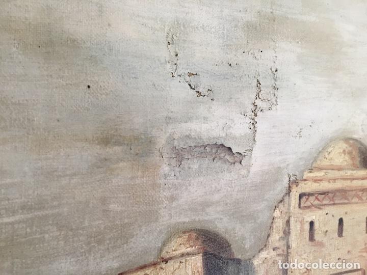 Arte: Óleo muy antiguo Corot - Foto 6 - 79604479