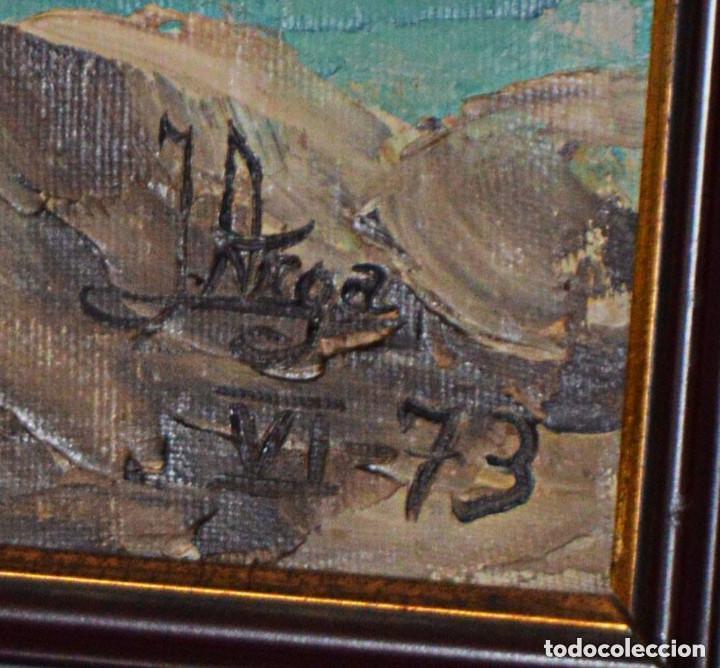 Arte: ÓLEO ORIGINAL DE J. ARGA - JOAQUIN ARACIL GARCÍA - Foto 3 - 79617993