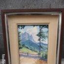 Arte: OLEO SOBRE TABLA DE T. BORRELL - PIE DE MIDI - FARMOTA - VER FOTOS, 52,5 X 43,5 CM EL CUADRO + MARCO. Lote 79665141