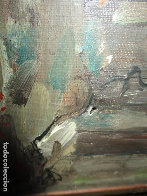 Arte: JORGE CERDÁ GIRONÉS OLEO SOBRE LIENZO , OBRA ORIGINAL - Foto 11 - 79667101