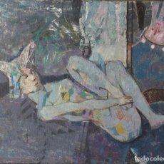 Arte: ANTONIO GUIJARRO GUTIERREZ (1923-2011) ARLEQUIN CAIDO.. Lote 79888993