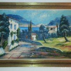 Arte: CUADRO ,PAISAJE RURAL. FIRMADO: A. BOIX.. Lote 79974793