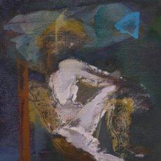 Arte: ALFONSO COSTA BEIRO. DESNUDO. (NOIA, CORUÑA 1943).. Lote 80179377