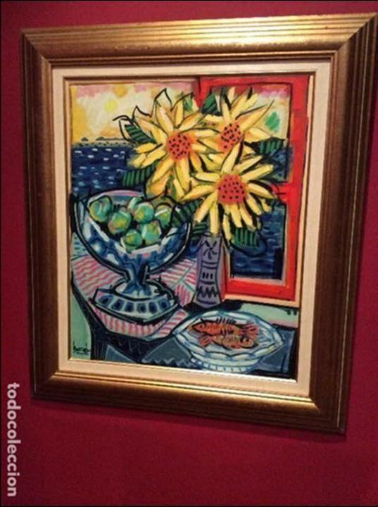 JOSE MARIA BARREIRO, (FORCAREI -PONTEVEDRA 1940) (Arte - Pintura - Pintura al Óleo Moderna sin fecha definida)