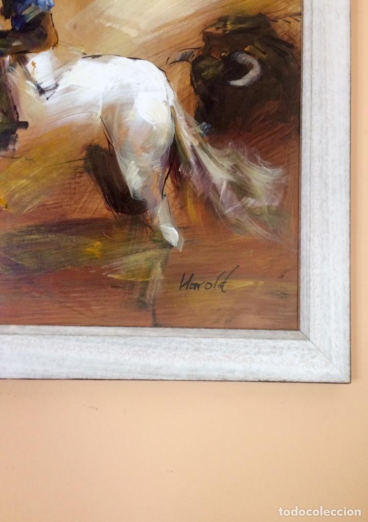 fastástica pintura al óleo enmarcado con motivo - Comprar Pintura al ...