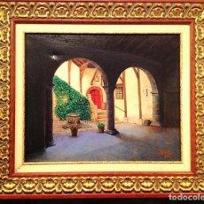 Arte: ÓLEO DEL PINTOR C. MOLAS MEDIDAS 65X59CM. Lote 80312177