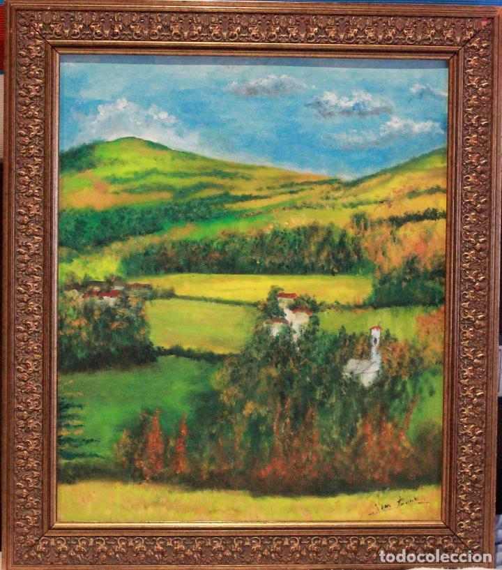 pintura al oleo sobre tabla, enmarcado, firmado - Comprar Pintura al ...
