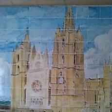 Arte: MURAL CERÁMICO DEL AÑO 1910 DE DANIEL ZULOAGA, CATEDRAL DE LEÓN. Lote 81027968