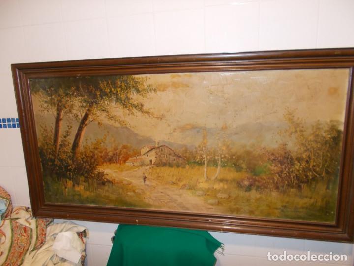 CUADRO DE PINTURA AUTOR DESCONOCIDO (Arte - Pintura - Pintura al Óleo Antigua sin fecha definida)