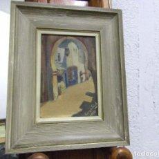 Arte: PUERTA MORA-OLEO EN TABLEX-FIRMADO. Lote 81117228