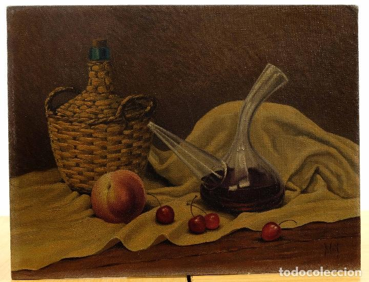 Arte: Juan Luís Dominguez Bodegón mediados siglo XX firmado - Foto 2 - 81188212