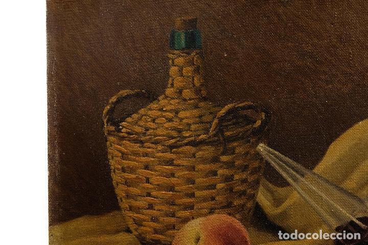 Arte: Juan Luís Dominguez Bodegón mediados siglo XX firmado - Foto 3 - 81188212