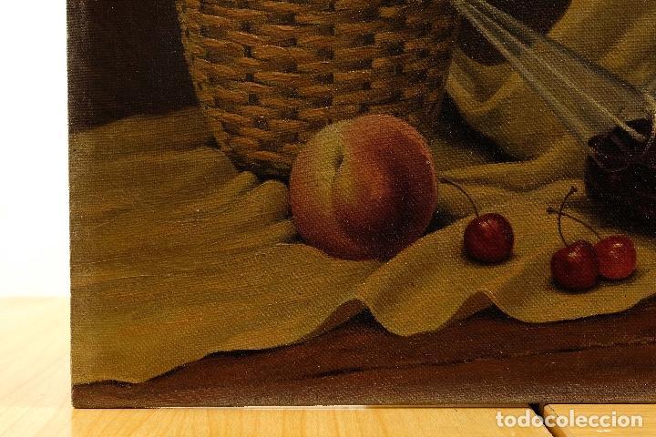 Arte: Juan Luís Dominguez Bodegón mediados siglo XX firmado - Foto 4 - 81188212