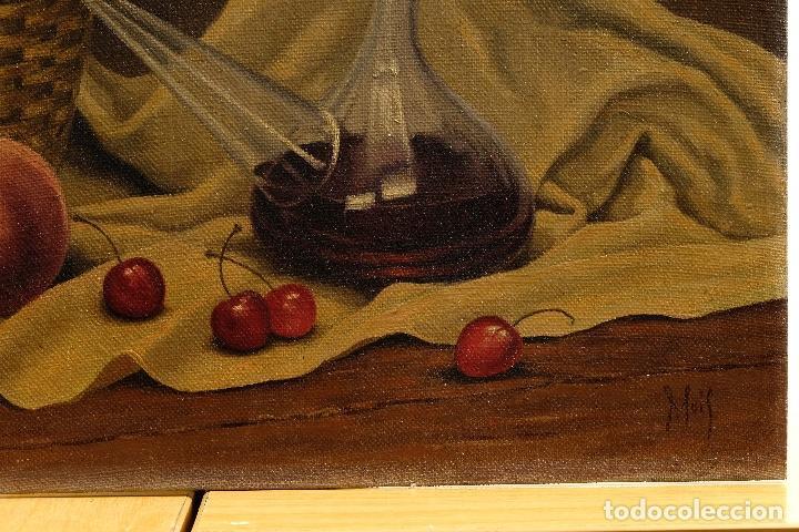 Arte: Juan Luís Dominguez Bodegón mediados siglo XX firmado - Foto 5 - 81188212