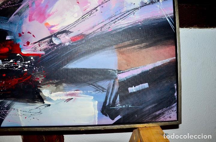 Arte: Cuadro Pintura abstracta - Foto 3 - 81300164