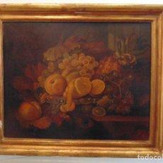 Arte: BODEGÓN, NATURALEZA MUERTA, BARROCO ITALIANO, OLEO SOBRE TABLA. Lote 81329260