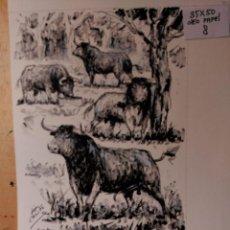 Art: OLEO, SOBRE PAPEL. JOSE LOPEZ CANITO. Lote 184737508